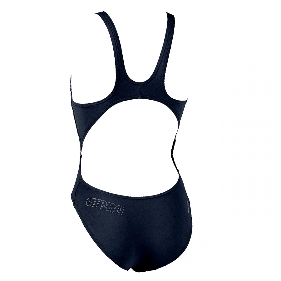 Arena Makinax High Leg Swimsuit (Navy) Back