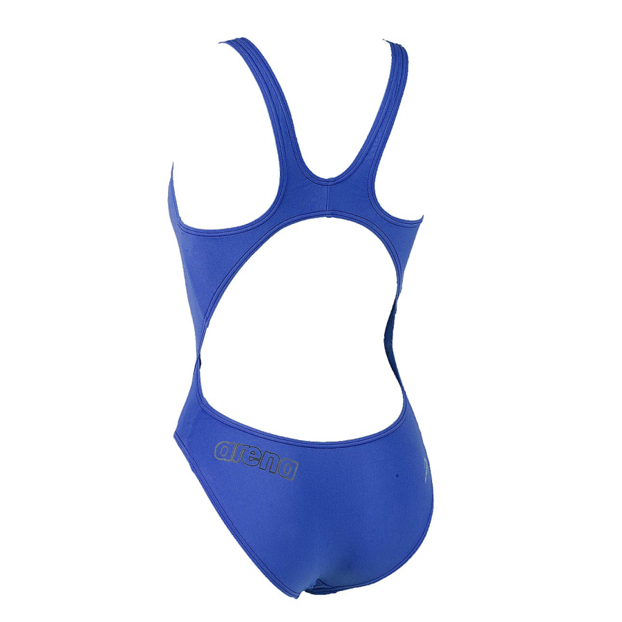 Arena Makinax High Leg Swimsuit (Royal Blue) Back