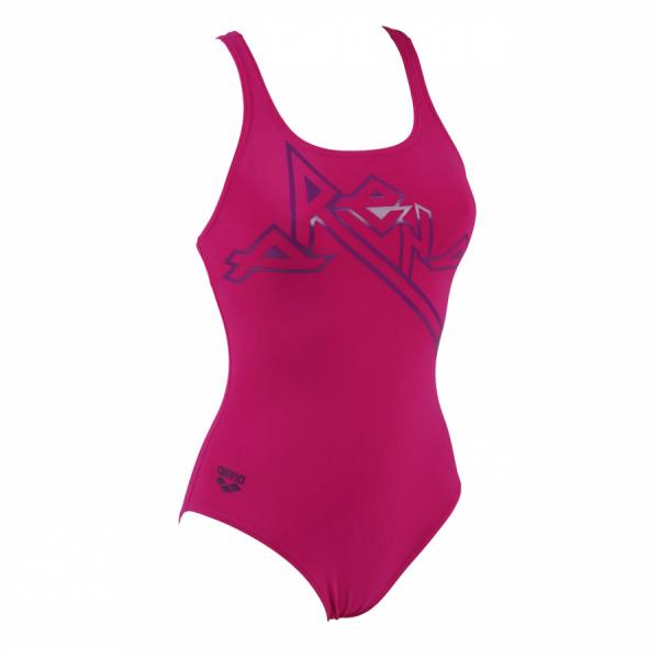 Arena Ladies Malaka Rose Pink Swimsuit