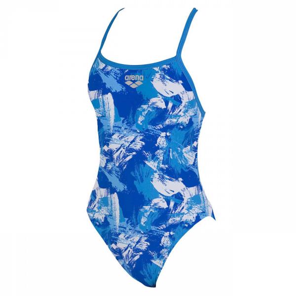 Arena Ladies Swimwear - Malaki High (Bluesky) front