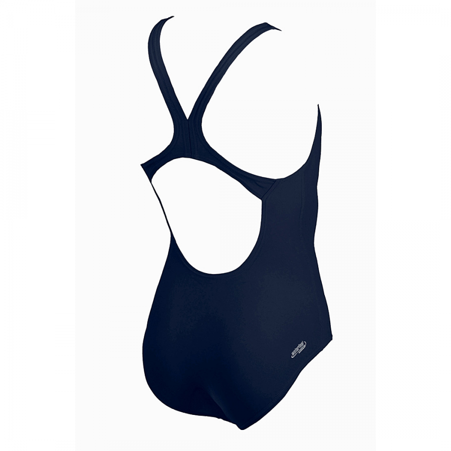 Arena Maltosys Youth Junior Swimsuit - Navy Blue BACK
