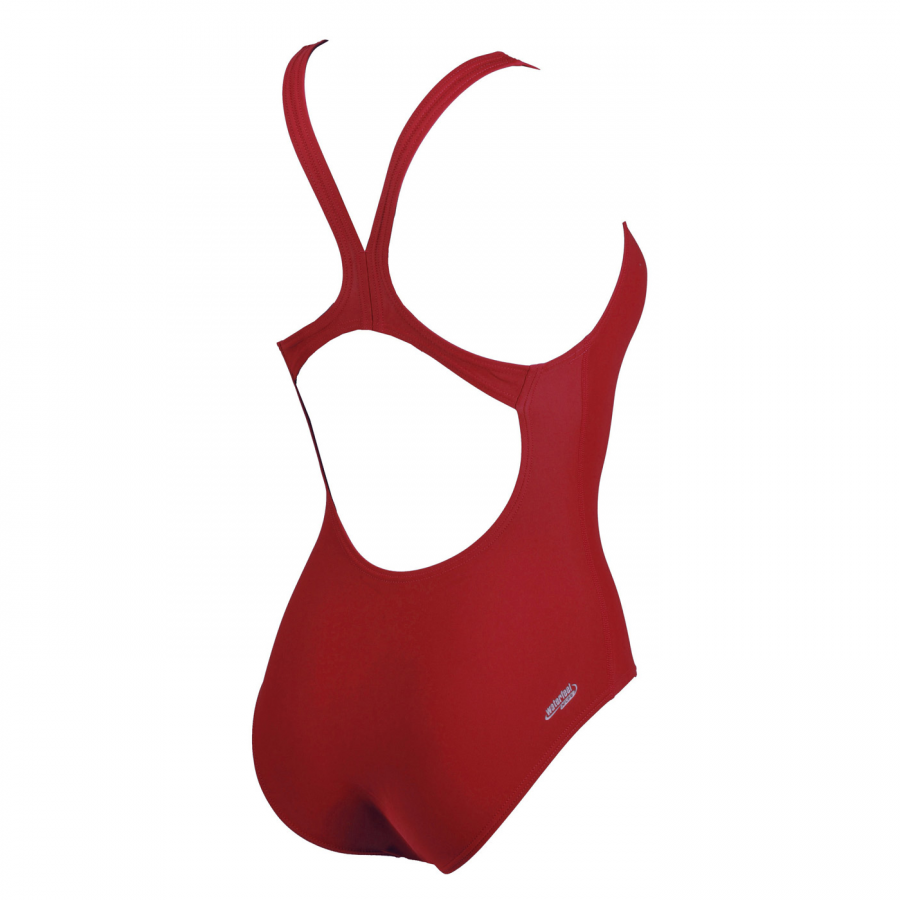 Maltosys Swimsuit - Red BACK