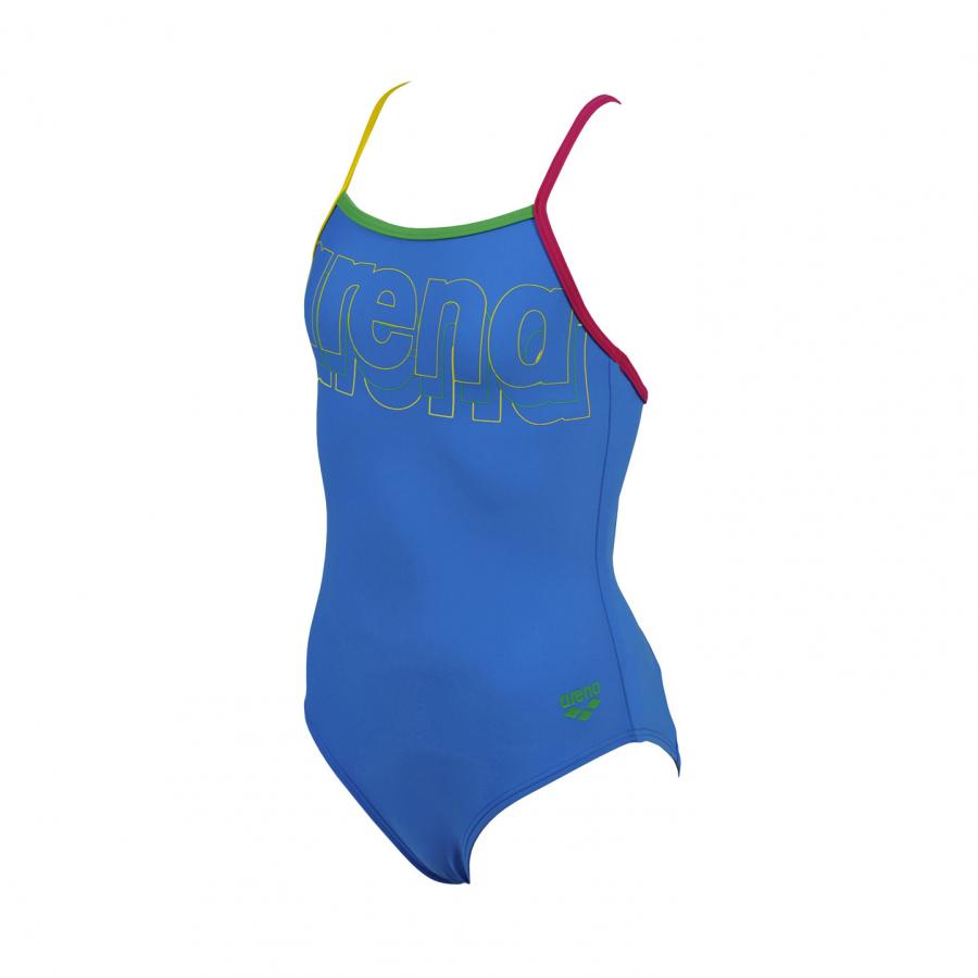 Arena Mariga Girls Swimsuit (Blue)