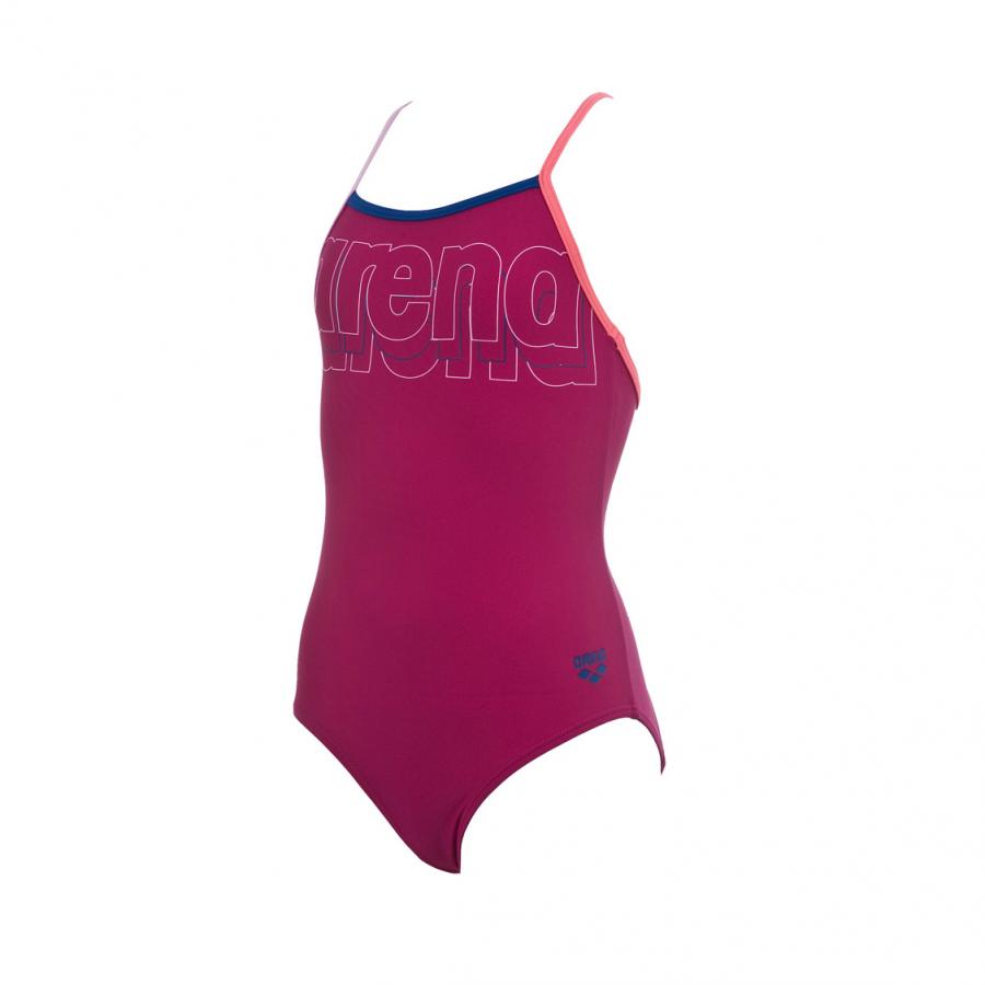 Arena Mariga Girls Swimsuit (Magenta)