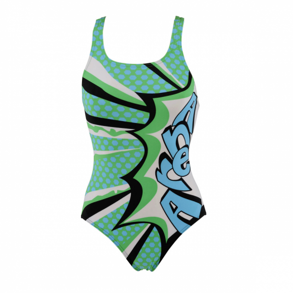 Arena Ladies Marseille Swimsuit (Green)