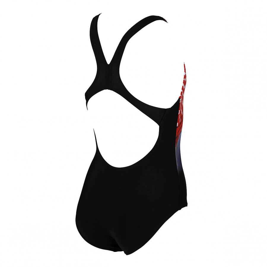 Arena Junior Swimsuit -  Mawol (Black / Red / Blue)