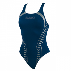 Arena Swimwear Ladies Mazolet High Leg (Navy)