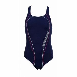 Arena Meander Girls Blue Swimsuit 1