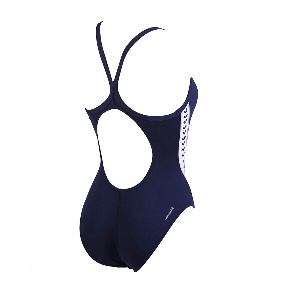 Arena Ladies Meteor Swimsuit (Navy) BACK