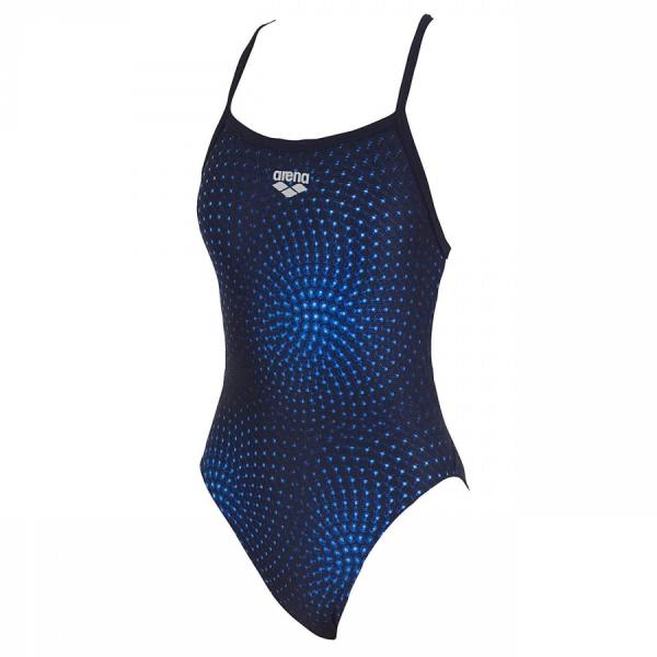 Arena Ladies Swimwear - Monaka II (Denim/Denim) Front