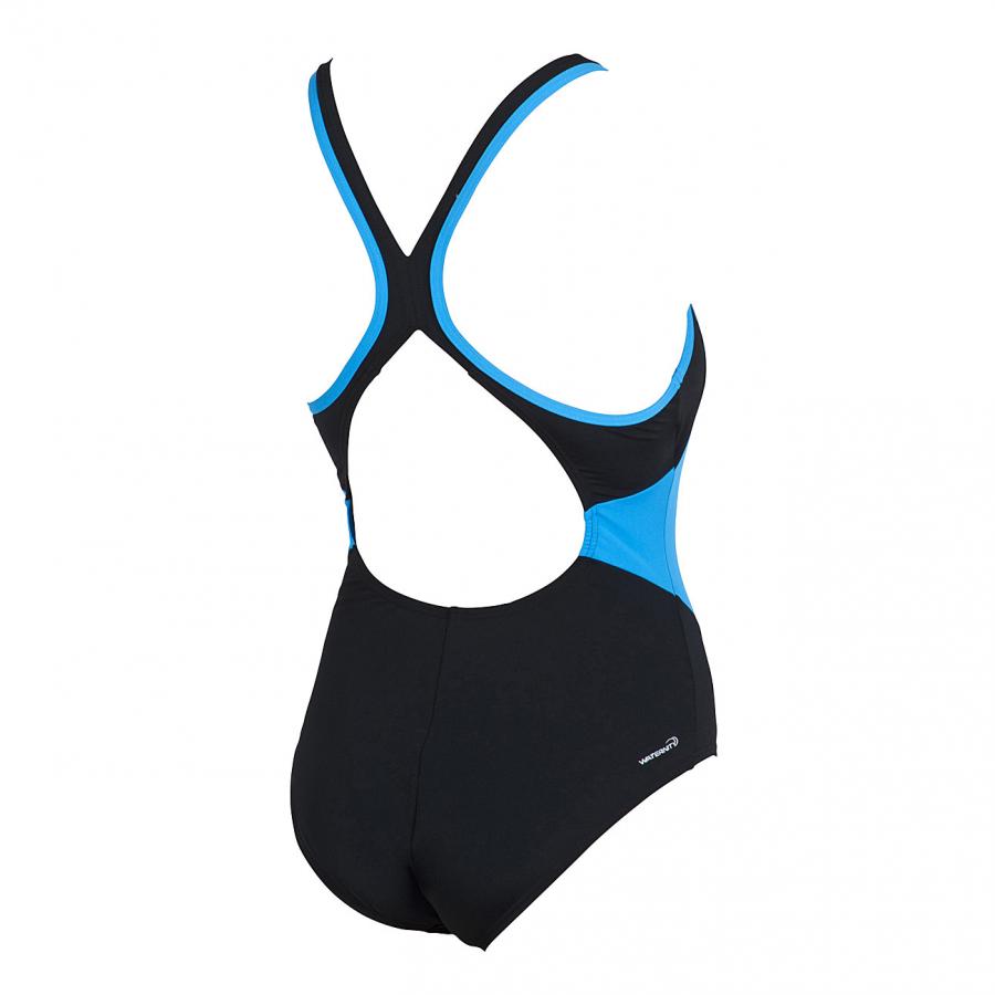 Arena Ladies Moons Black / Turquoise Swimsuit