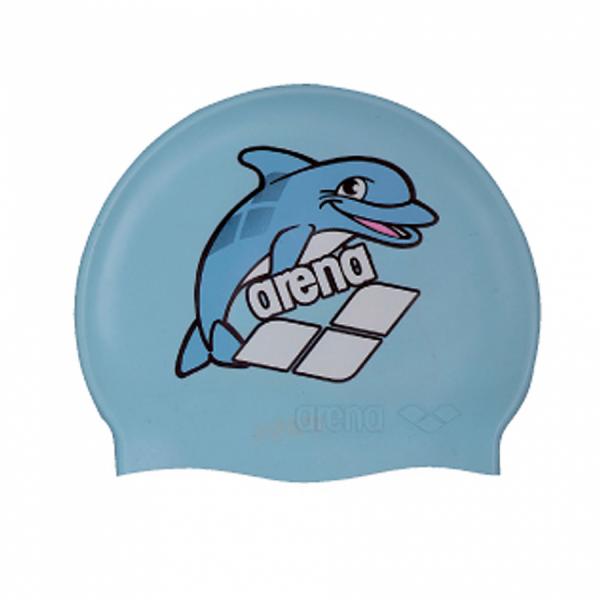 Arena World Junior Swim Cap - Light Blue