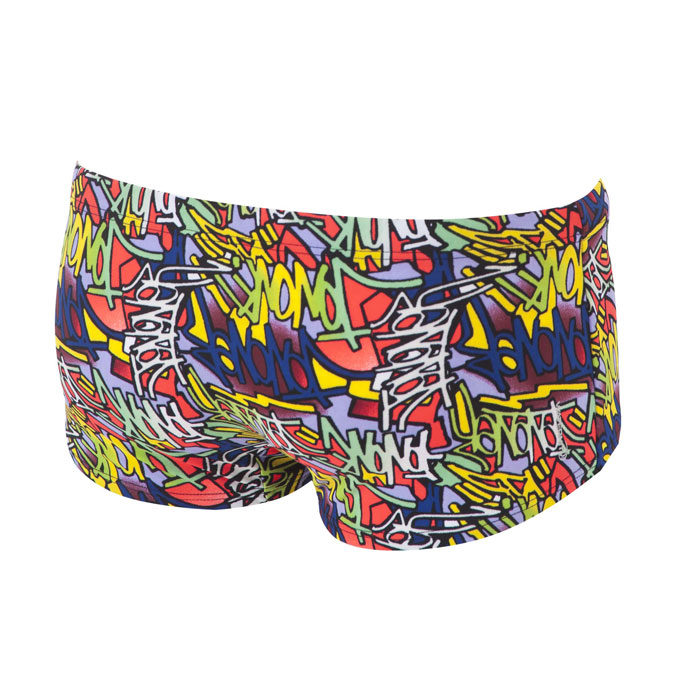 Arena Murales Low Waist Shorts - Yellow Star