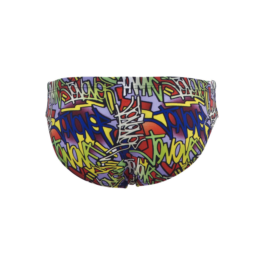 Arena Murales Junior Swim Brief (Yellow)