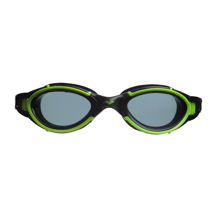 Arena Nimesis Goggles Smoke Lens Green Frame