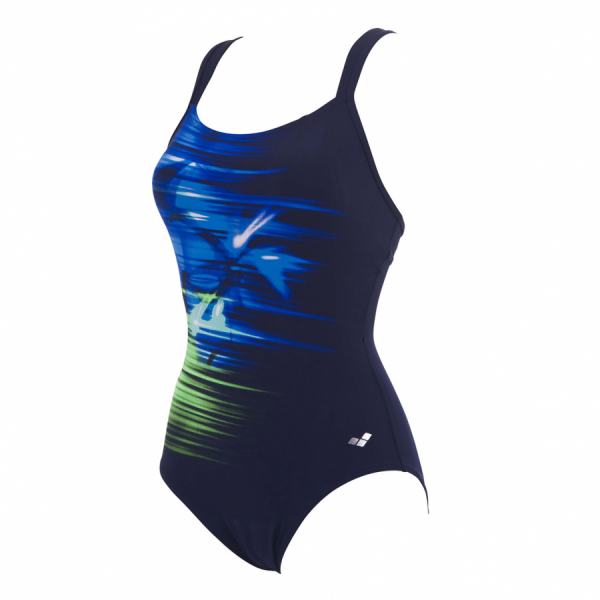 Arena Orchidea BodyLift Body Shaping Swimsuit (Blue)
