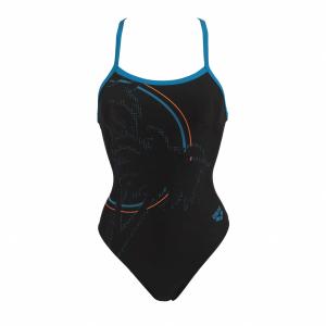 Arena Ladies Palm one piece black swim suit