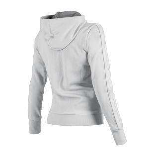 Ladies Arena Parkour Hooded Full Zip Sweatshirt - White