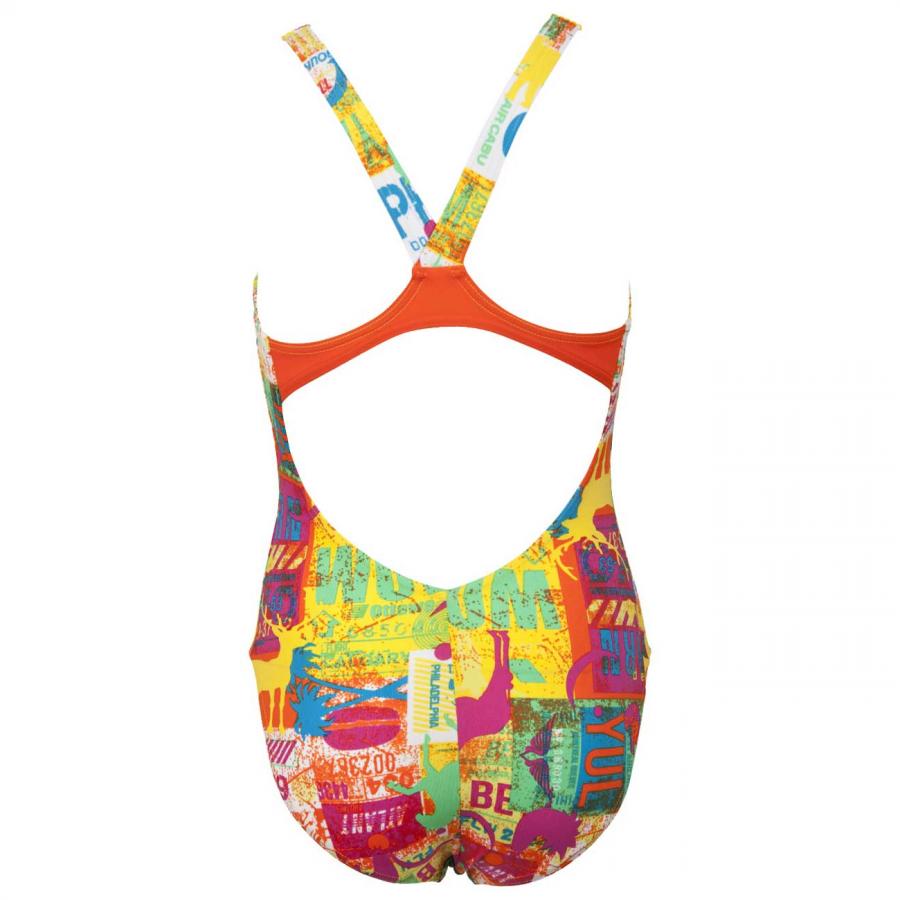 Arena Junior Yellow Swimsuit - Passport