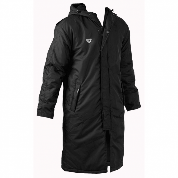 Arena Piston Fleece Lined Long Jacket - Front