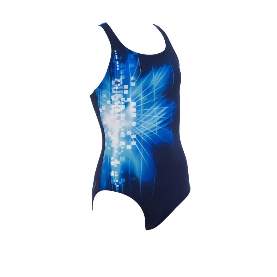 Arena Pixel Girls Swimsuit (Blue)