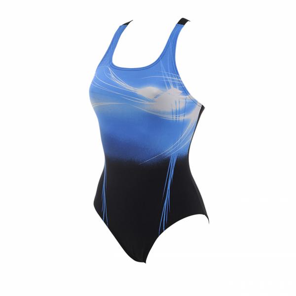 Arena Planet Swimsuit (Black - Blue)