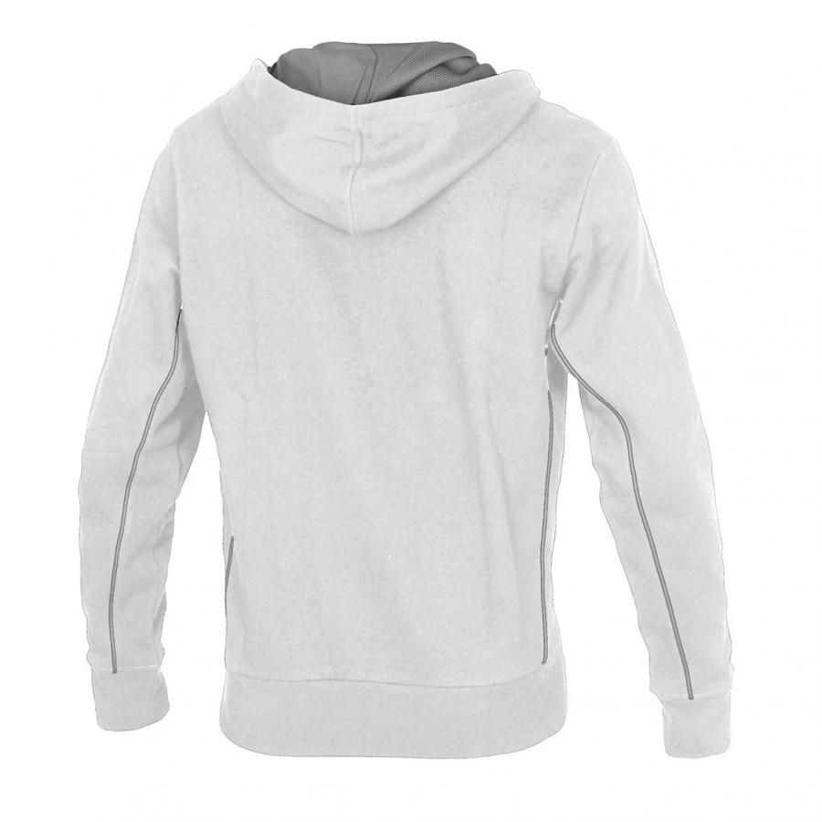 Unisex Arena Pressure Hooded Full Zip Jacket - White