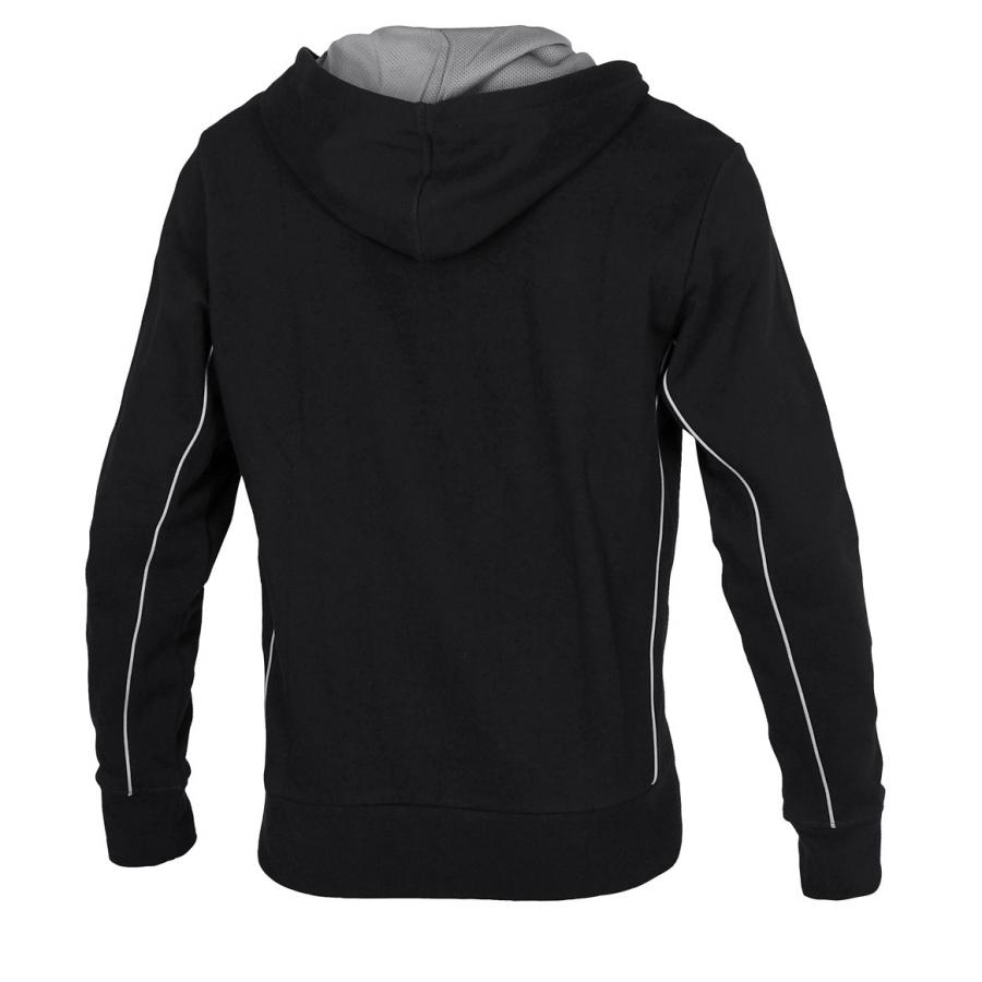 Unisex Arena Pressure Hooded Full Zip Jacket - Black