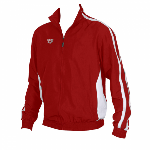 Unisex Arena Prival Full Zip Jacket - Red