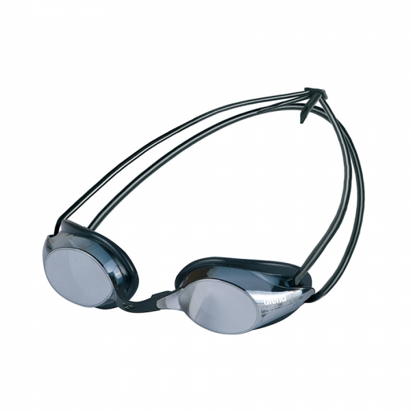Arena Pure Mirror Racing Goggles - Smoke/Silver Lens