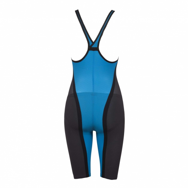 Buy Arena Blue Carbon Flex Closed Back Short Leg Suit online at arenaswimwearstore.com