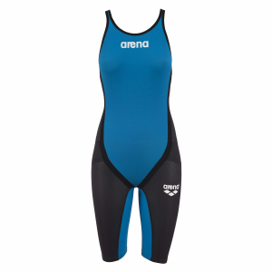 Arena Blue Carbon Flex Closed Back Short Leg Suit