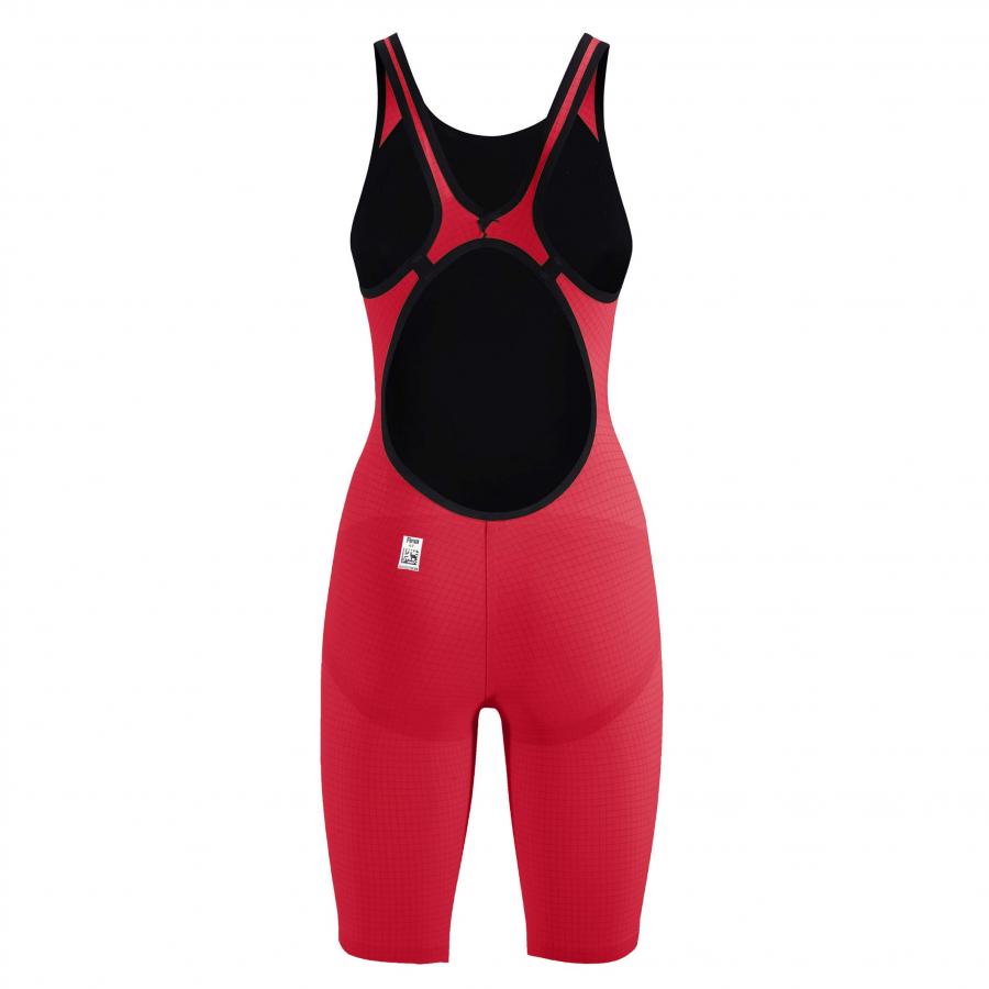 Arena Carbon Pro 2 Closed Back Short Leg Suit - Red