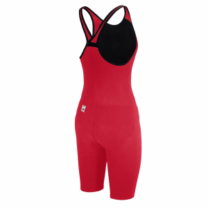 Arena Carbon Pro 2 Closed Back Short Leg Suit - Red