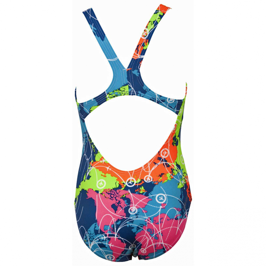 Shop Arena Junior Blue Swimsuit - Routes