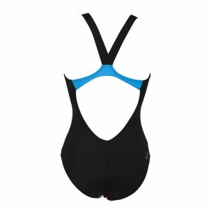 Ladies Arena Satellites Black Swimsuit