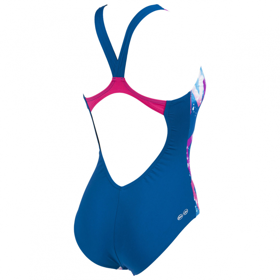 Ladies Arena Satellites Blue Swimsuit