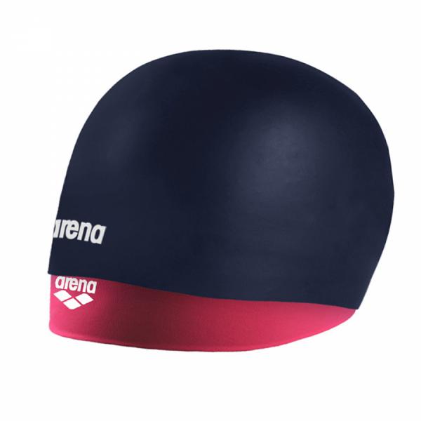 Arena Silicone Smart Cap - Navy / Fuchsia