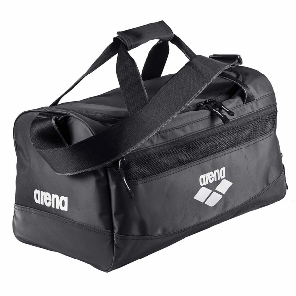 Arena Spiky Medium Sports Bag - Black