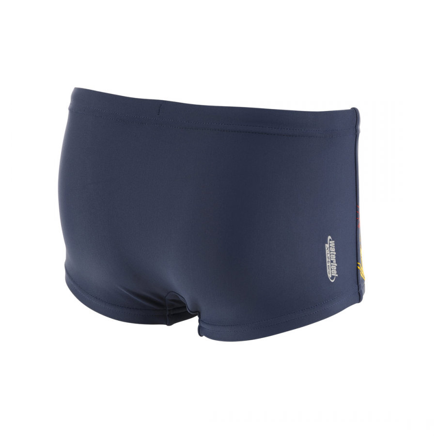 Arena Spray Junior Swim Shorts - Shark (GreyBlue)