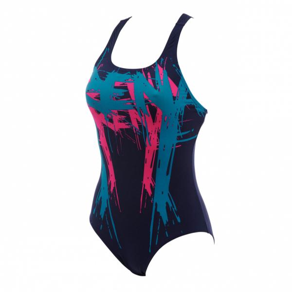 Arena Ladies Streetart Swimsuit - Navy