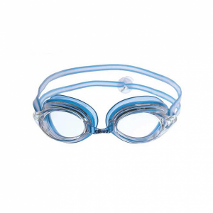 3933e3b0ff Arena Strike Junior swimming Goggles - Blue with Clear Lens