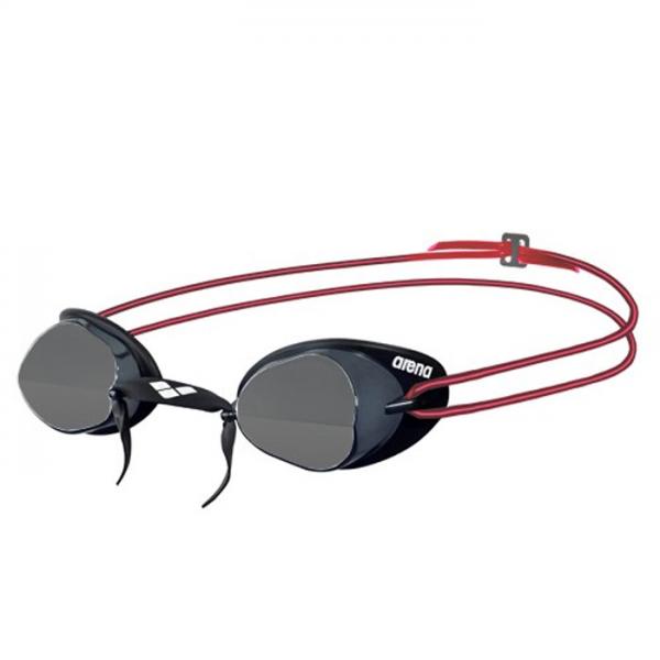 Arena Swedix Racing Goggles - Smoke / Red