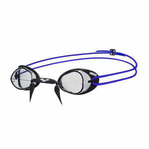 Arena Swedix Racing Goggles - Clear / Blue