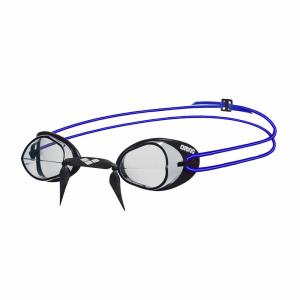 Arena Swedix Racing Goggles - Clear / Blue