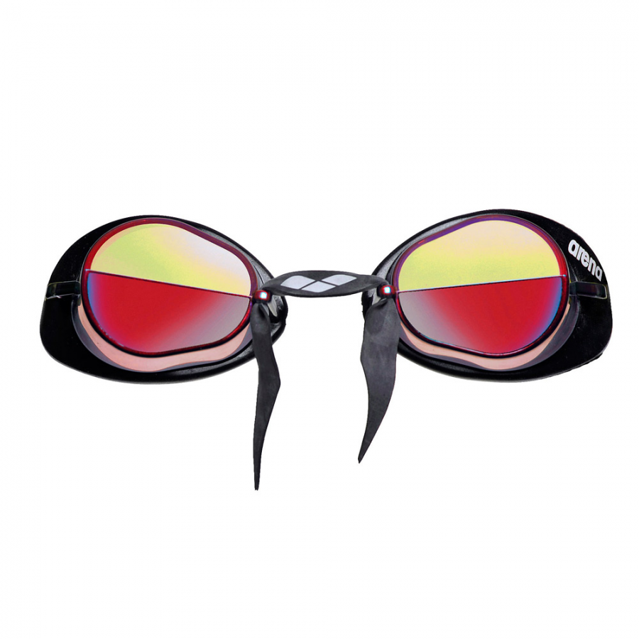 Arena Swedix Mirror Racing Goggles - Red Yellow Lens
