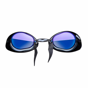 Arena Swedix Mirror Racing Goggles - Smoke/Blue Lens