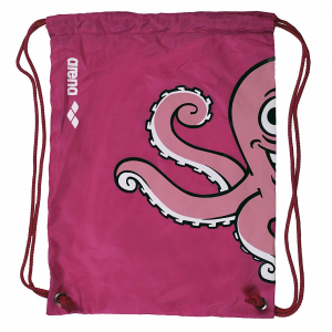 Arena World Junior Pool Bag - Pink Octopus