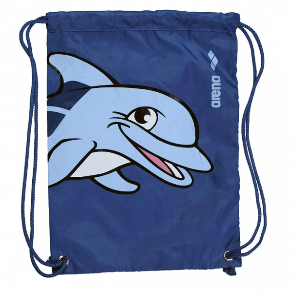 Arena World Junior Pool Bag - Blue Dolphin - Front