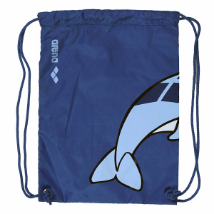 Arena World Junior Pool Bag - Blue Dolphin - Back
